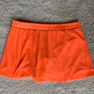 ADIDAS tennis skort  orange Size L